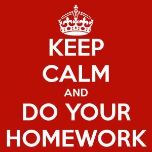 KeepCalm-DoYourHomework